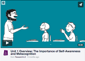 SMARTS Overview Video: Self-Awareness and Metacognition