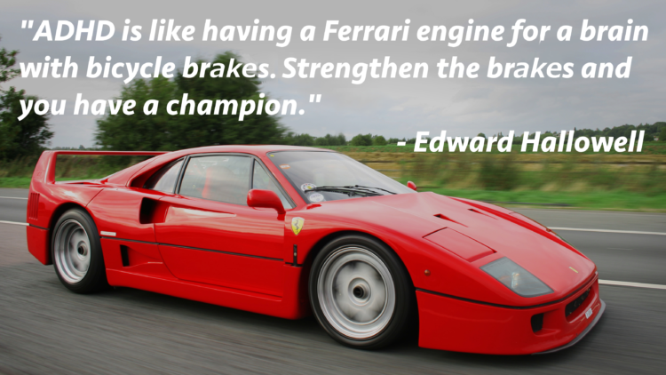 "Quick Quote – ""A Ferrari with Bicycle Brakes"""