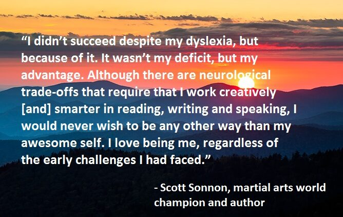 Quick Quote: Scott Sonnon on Dyslexia